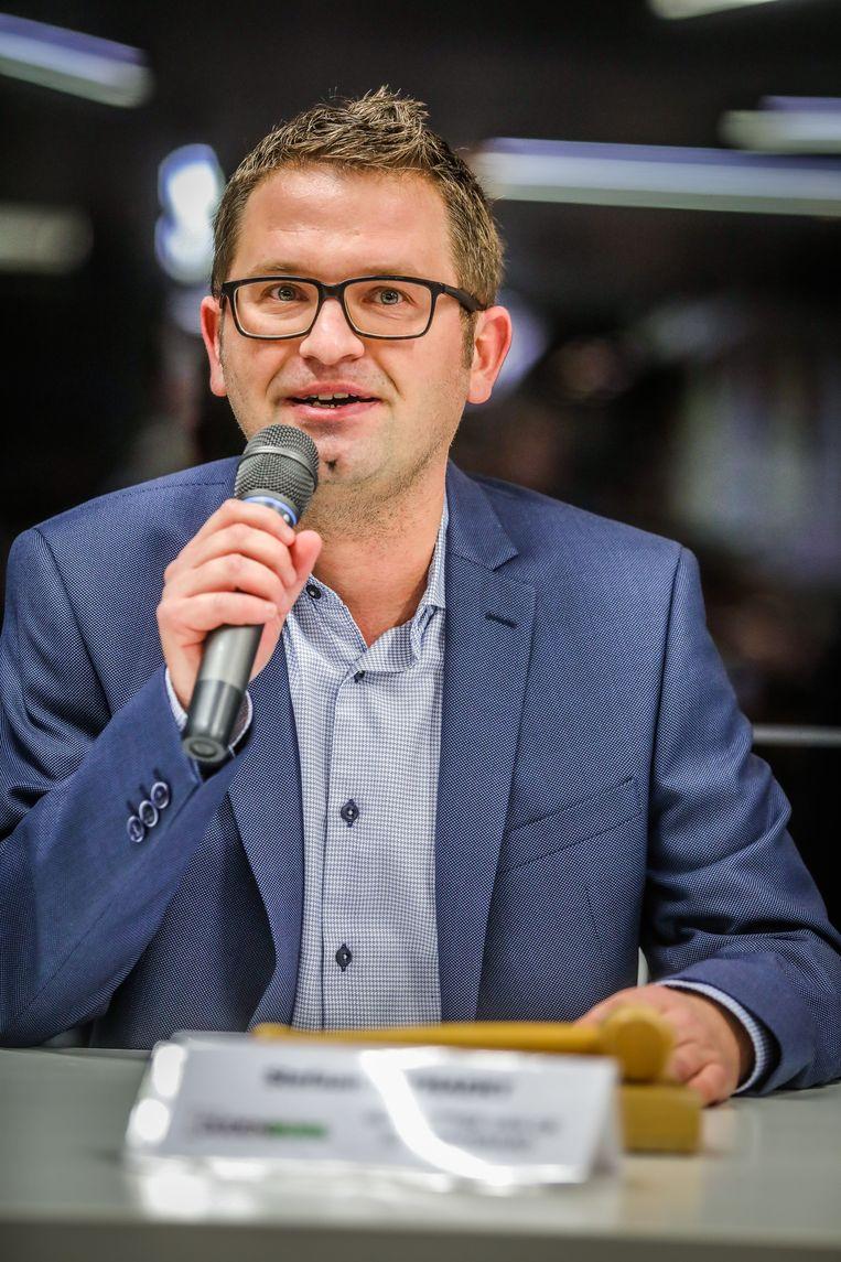 Voorzitter van de gemeenteraad Stefaan Reynaert (Open Vld).