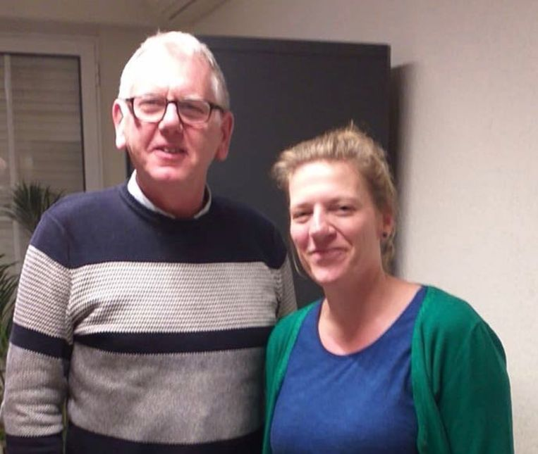 Fred De Keyser en Jill Elsen