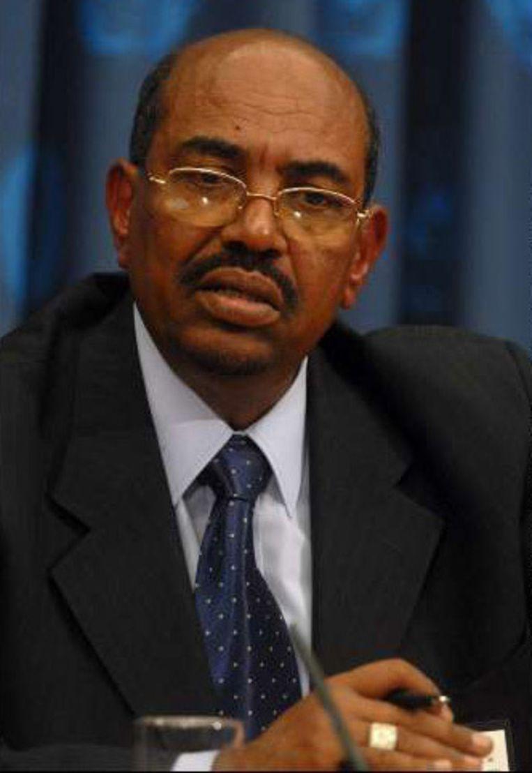 De Soedanese president Omar al-Bashir.