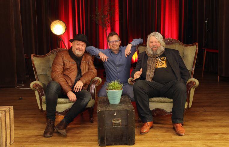Jo Cassiers, Jochen Van Laere en Bart Buls in de Chapelle.