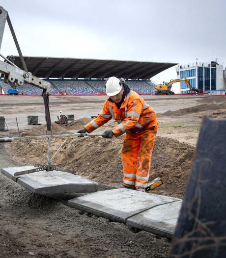 Zandvoortse bouwput wordt steeds meer een Formule 1-circuit