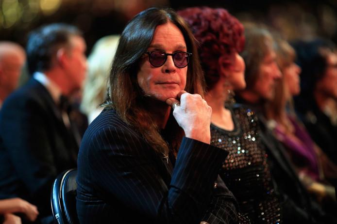Le chanteur de Black Sabbath, Ozzy Osbourne.