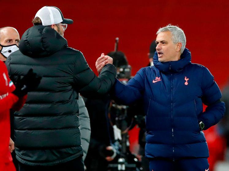 """Mourinho over Klopp: """"Geen vriend, maar er is respect"""""""