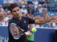 Federer wint eerste duel na Wimbledon