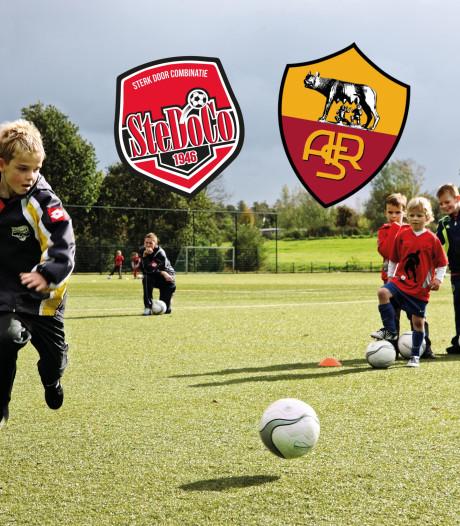 AS Roma houdt trainingskamp voor jeugd bij SteDoCo