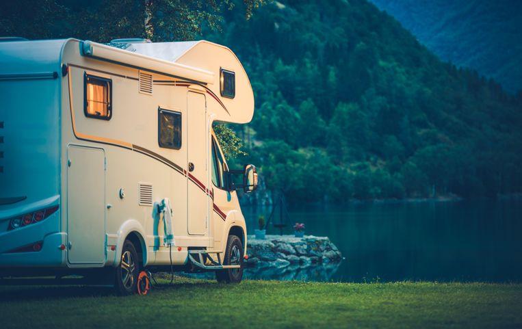 Een illustratiebeeld van een camper.
