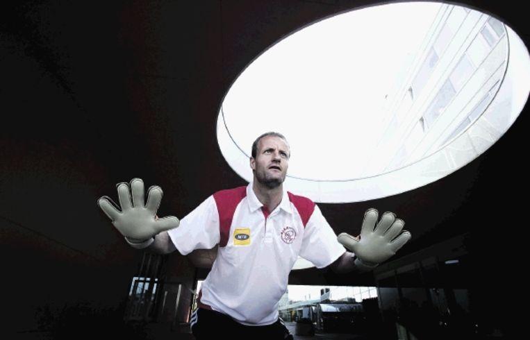 Hans Vonk hoopt met Zuid-Afrika aan het WK van 2010 deel te mogen nemen. (FOTO MAARTJE GEELS) Beeld