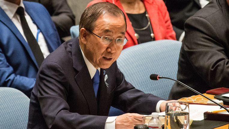 Secretaris-generaal van de VN, Ban Ki-Moon.