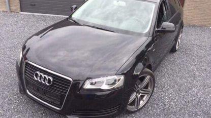 Audi A3 voor woning gestolen. Belden daders aan net voor de feiten?