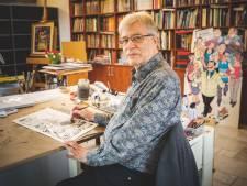 Hec Leemans, tekenaar van F.C. De Kampioenen en Bakelandt, tekent halve eeuw strips