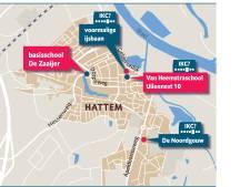 Ouders basisscholen De Zaaier en Van Heemstra in Hattem willen nieuwbouw dichtbij houden