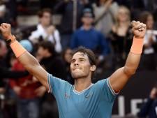 Nadal wint voor de negende keer het toernooi van Rome