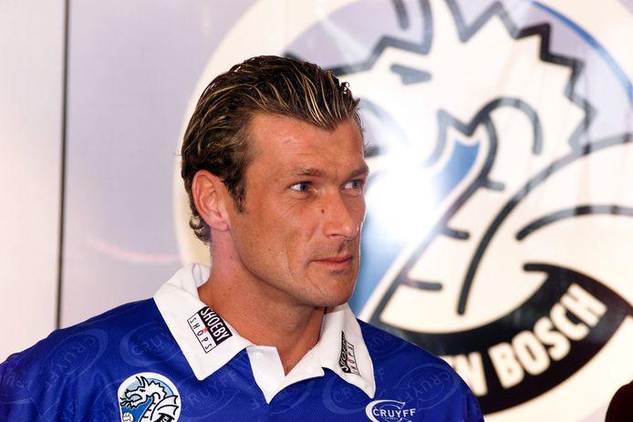 Henk Vos in het shirt van FC Den Bosch, 1999.