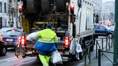 Brusselse vuilnisophaling even verstoord door spontane staking, vanaf morgen weer normale ophaling
