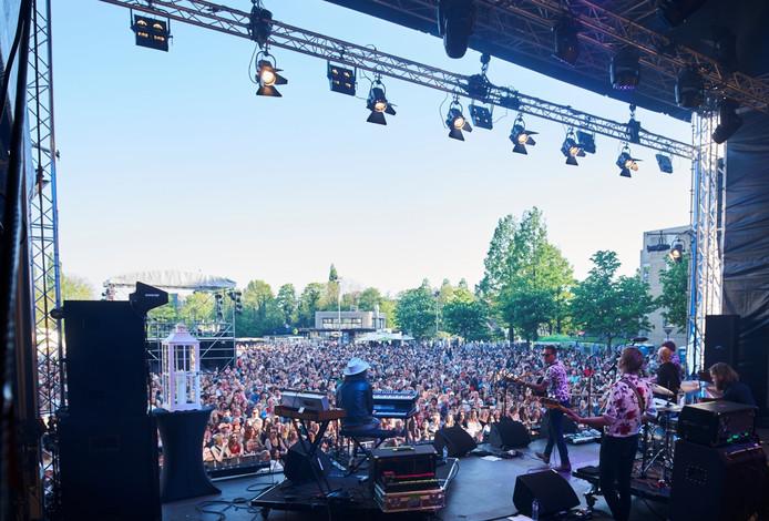 Een eerdere editie van het Bevrijdingsfestival in Zoetermeer.