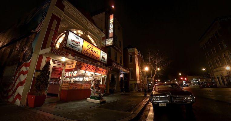 Ben's Chili Bowl is de centrale locatie van de documentaire in Washington D.C. In dit restaurant kunnen zwarte stadbewoners sinds 1958 samen eten zonder voortdurend op hun hoede te hoeven zijn. Beeld Filmstill