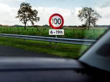 Veluwe is de uitzondering: in de nacht 'slechts' 120 per uur, géén 130