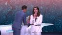 Merel Westrik bij haar afscheid bij RTL Nieuws.