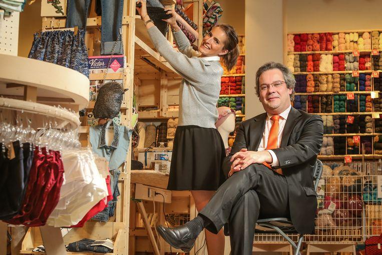 """""""De retail heeft moeilijke jaren achter de rug"""", zegt CEO Ulrik Vercruysse."""