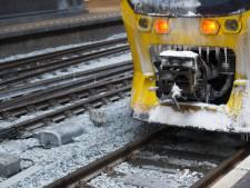 In noordoosten hele nacht treinen tegen ijzel