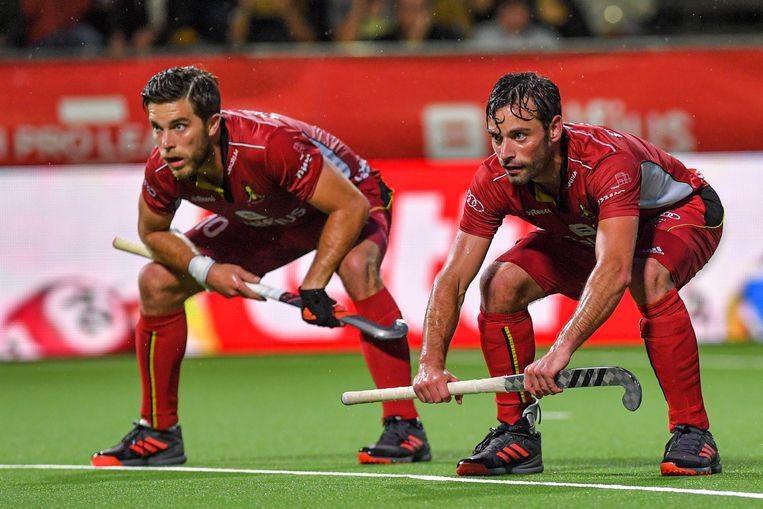 Sebastien Dockier (rechts) zit niet in de EK-selectie.