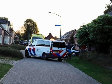 Automobilist rijdt tegen gevel van woning in Westerbeek