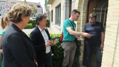 Groen Deinze bezoekt 5.000ste inwoner