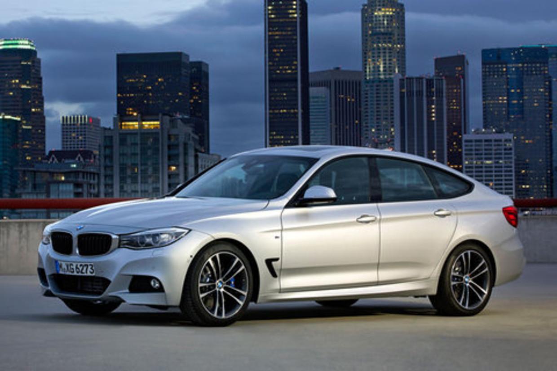 BMW 3GT uit 2013 .