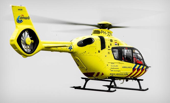 L'enfant a été héliporté vers un hôpital de Rotterdam