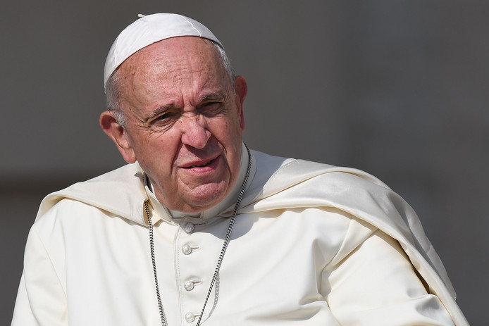 Paus Franciscus.