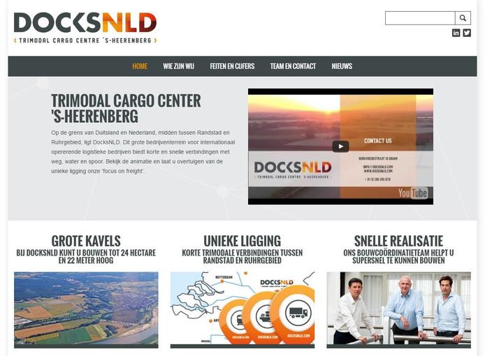 De website van DocksNLD.