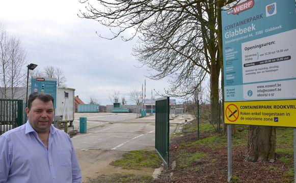 GLABBEEK-schepen Kris Vanwinkelen verzet zich tegen de prijsverhoging
