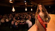 Miss België Romanie Schotte schittert op catwalk