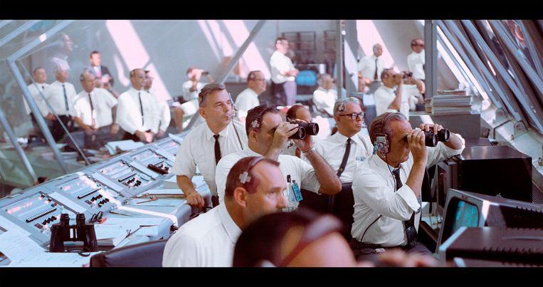 Beeld uit Apollo 11. De documentairemakers stuitten op een schat aan vergeten archiefmateriaal. Beeld