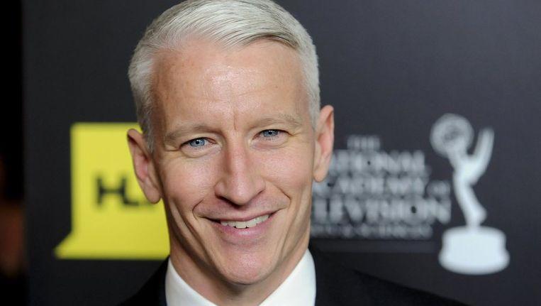 Anderson Cooper bekende gisteren homoseksueel te zijn. Beeld reuters