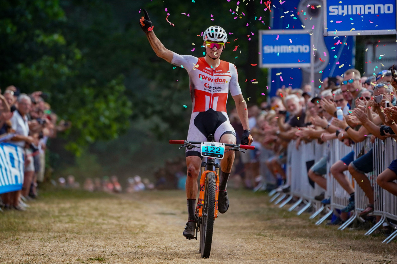 Apeldoorn - Netherlands - wielrennen - cycling - cyclisme - radsport - Mathieu van der Poel, pictured during NK Mountainbike in Apeldoorn - photo Gert Bonestroo/Cor Vos © 2018