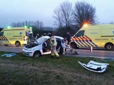 Automobiliste zwaargewond bij ernstig ongeluk in Koudekerke