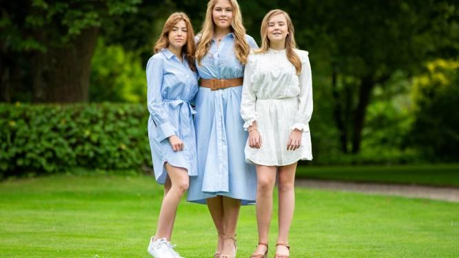 """Nederlandse prinsessen Amalia en Alexia dinsdagavond pas terug van vakantie in Griekenland: """"Niet genoeg tickets voor hele gezin"""""""