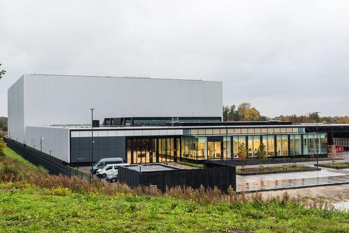 Het Collectiecentrum Nederland in Vathorst. Het kunstdepot is klaar, maar de opening wordt voorlopig uitgesteld.