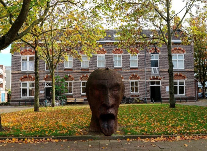 Het pand aan de Kloosterlaan dat de NV  Stadsherstel Breda heeft gekocht.