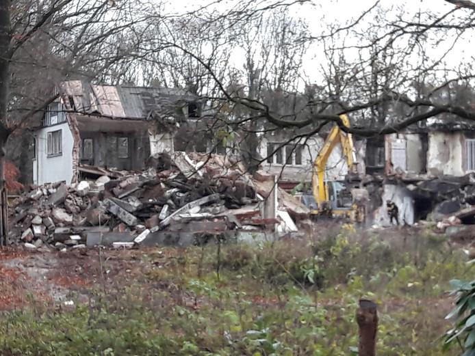 De 'Brizzi Villa' op Landgoed Dennenhoef, langs de Tilburgseweg in Moergestel, wordt gesloopt