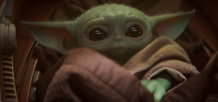 The Child, onder fans bekend als Baby Yoda.