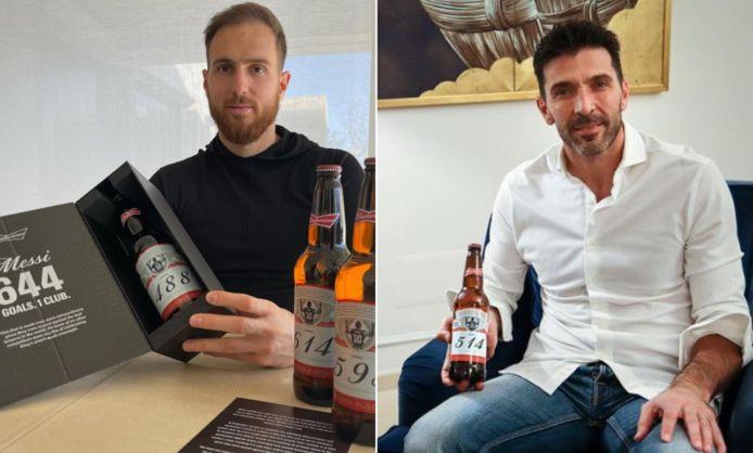 Jan Oblak en Gianluigi Buffon krijgen speciaal biertje als aandenken aan doelpunten Messi.