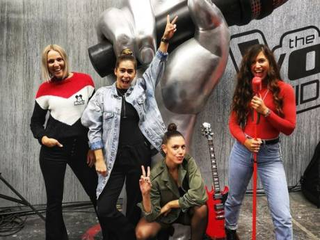 Haagse meidenband Luminize in The Voice of Holland