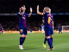 Barcelona legt druk bij Real Madrid na zege op Málaga