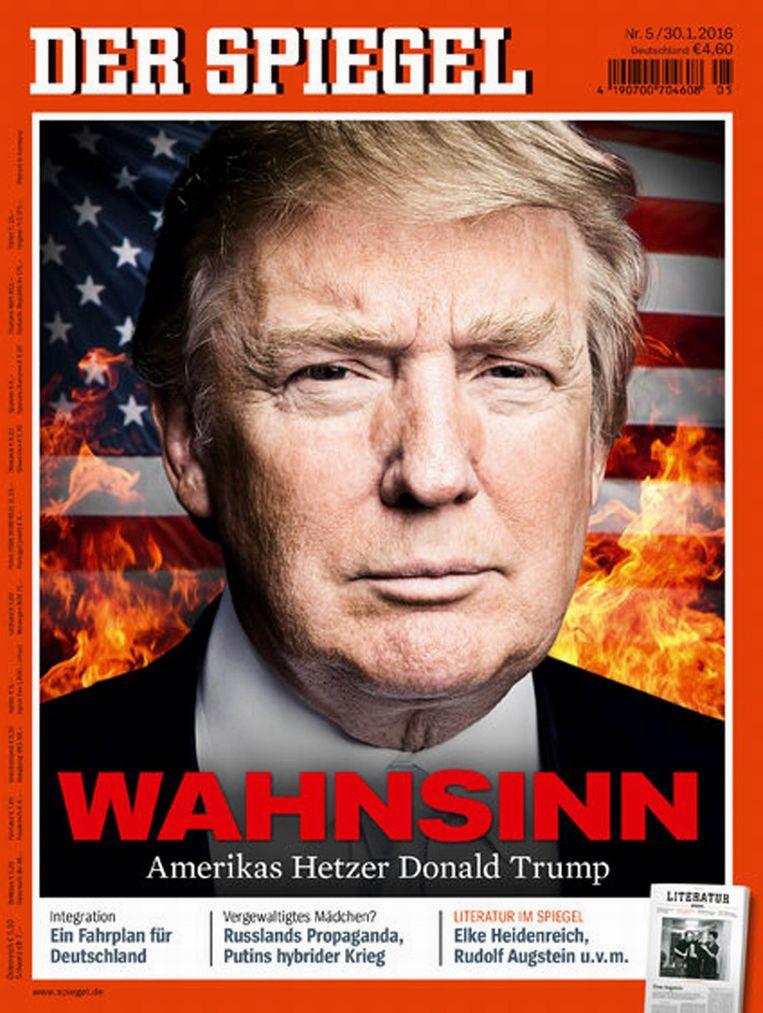 Der Spiegel, eind januari van dit jaar. Beeld photo_news