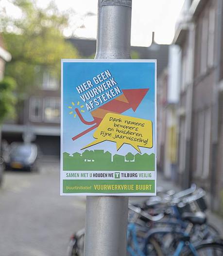 Vuurwerkverbod voor de hele straat: Tilburgers mogen eigen straten vuurwerkvrij verklaren