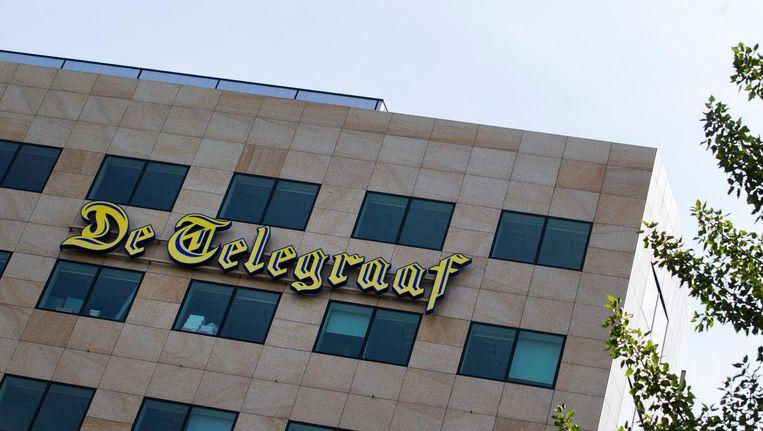 Kantoor van de Telegraaf aan de basisweg in Amsterdam. Beeld anp