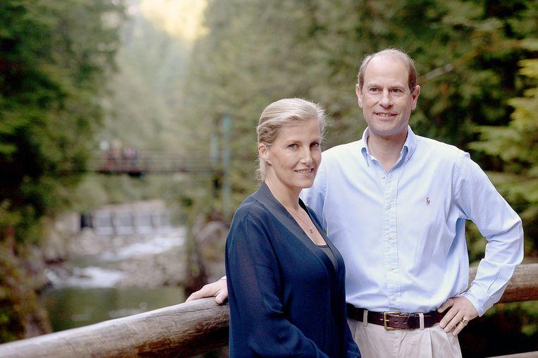 Prins Edward en Sophie Rhys-Jones