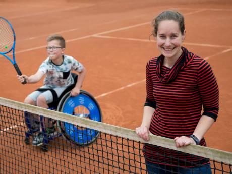 Nieuwe Sloot gastheer van Junior Camp voor rolstoeltennissers